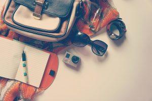 Go Pro, Stylo, Bloc Notes, Voyage, De Vacances, Journal